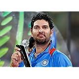 Yuvraj Singh Poster (2) ON FINE ART PAPER HD QUALITY WALLPAPER POSTER