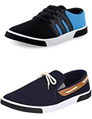 SCATCHITE COMBO Pack Of 2 Pair Of Shoes (Casual ShoeS & Loafers & Mocassins)