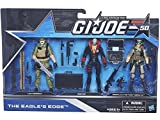 G.I. Joe, 50th Anniversary, The Eagle's Edge Action Figure Set [Gung-Ho, Destro, and General Hawk], 3.75 Inches