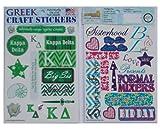 Kappa Delta - Craft Stickers