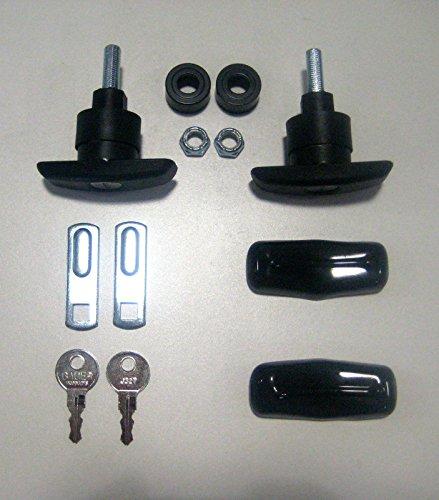 Truck Cap,topper Small Composite/plastic T-handles (Pair) W/covers #T505