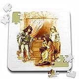 VintageChest - Shakespeare - Brundage - The Merchant of Venice - 10x10 Inch Puzzle (pzl_125988_2)