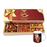 Chocholik - Almond Surprise & Melting Moment Chocolates With Diwali Special Coffee Mug - Diwali Gifts