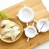 Alcoa Prime New 3pcs Dumpling Mould Dough Press 3 Size Ravioli Dough Pastry Pie Dumpling Maker Gyoza Mold Hot...