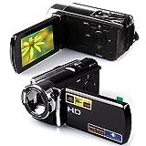 Hosamtel 16 MP 16x Digital Zoom 1080P Digital Video Camcorder Full HD DV Camera Kit