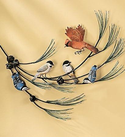 Flying Birds metal wall art: Beautiful Birds for Wall