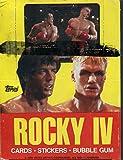 Rocky IV Vintage Full Wax Pack Box 36 Packs