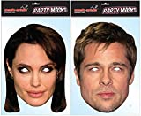 Brangelina Twin Pack Celebrity Face Mask