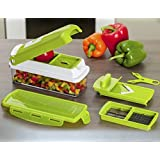 ShopAIS Genius Nicer Dicer Plus Multi Chopper Vegetable Cutter Fruit Slicer With CD