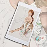 Pixy Ink Vintage Pin-Up Poster Print In White Gloves - By Fritz Willis