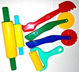Strokes Art Clay and Dough Tools Six Piece Set - Ages 3 & Up