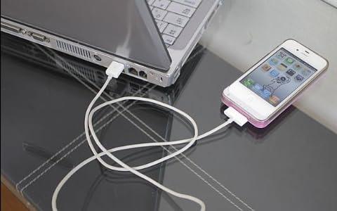iphoneケース 充電器付き 1420mAh カバー iphone4/4s用 A-power 【ブルー】