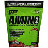 MP Musclepharm Amino 1 Hydration + Recovery, Fruit Punch, Net Wt. 1.77 Lbs (804 Grams)