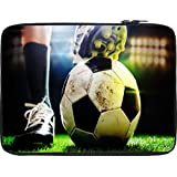 Snoogg Football 2630 12 To 12.6 Inch Laptop Netbook Notebook Slipcase Sleeve