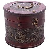 High Living Resin Showpiece Box (18 Cm X 18 Cm X 15 Cm, Brown)