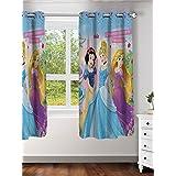 "Disney- Athom Trendz- Princess- Kids- Window Curtain- Single Piece- 48""x58"" (4ftx5ft)"