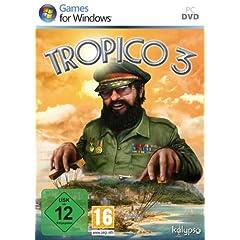 amazon Games der Woche: Tropico 3 [PC] für 25 € / Tiger Woods PGA Tour 10 [PS3] für 30 €