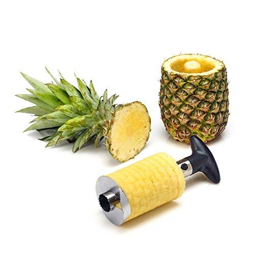 Statko Stainless Steel Pineapple Slicer, Peeler and Corer (See Notice Below)