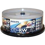 CDRW80D12/550 - CD-RW 4-12X 25PK SPINDLE