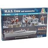 Italeri Models Mas Crew And Accessories Kit