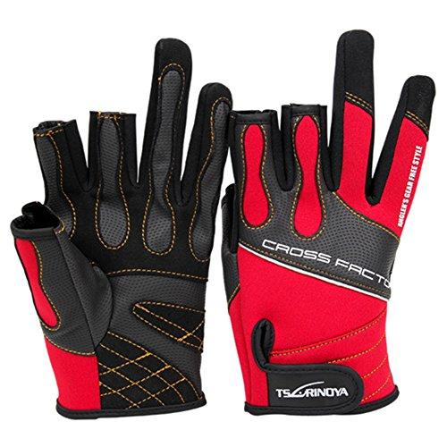 Goture rutschfeste Angeln Handschuhe wasserdicht atmungsaktiv Verschleißfest Lure Handschuhe Sonnenschutz Angeln Tackle