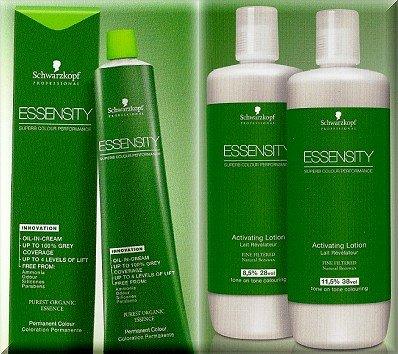 Essensity Developer + Hair Colour No 1 (Black)- 6 Pc Mega Save Combo