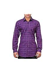 NativeAge Men's Slim Fit Cotton Casual Shirt [Multicolour] - B00MNGONHU