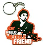 Scarface keyring. Say hello to my little friend PVC Rubber Keyring