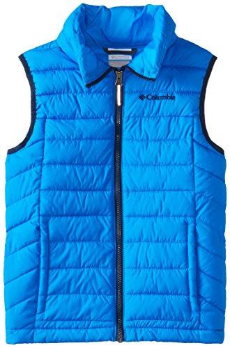 Columbia Big Boys' Powder Lite Vest, Hyper Blue, X-Large