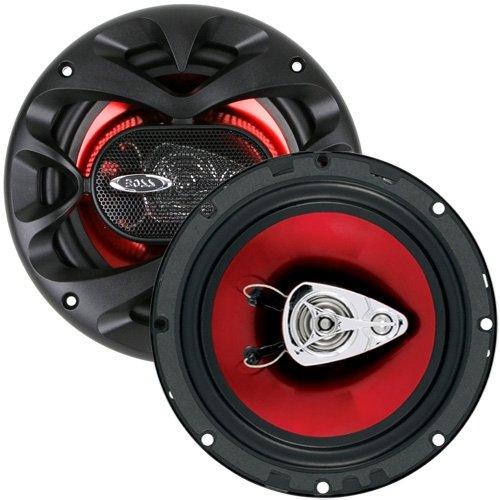BOSS AUDIO CH6530 Chaos Exxtreme 6.5″ 3-way 300-watt Full Range Speakers