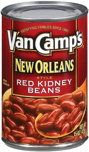 Van Camp S New Orleans Style Red Kidney Beans 15 Ounce Pack Of 24 Giant Food Store