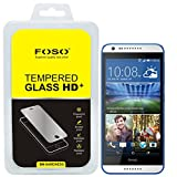 For HTC 620 Round Curved 2.5D Edge FOSO(TM) 9H Hardness Toughened Tempered Glass Screen Guard Protector (99.99%...