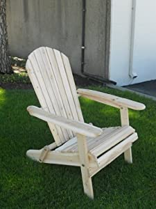 Amazon.com : Living Accents Folding Adirondack Chair ... on Living Accents Patio id=39465