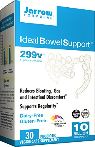 Jarrow Formulas Ideal Bowel Support, 10 Billion Organisms V-Capsules, 30 ct