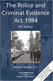The Police and Criminal Evidence Act 1984