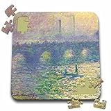BLN Claude Monet Collection - Waterloo Bridge by Claude Monet 1899-1900 - 10x10 Inch Puzzle (pzl_126629_2)