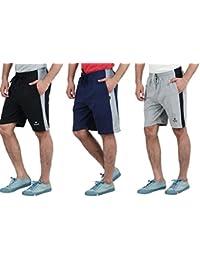 Splash Men's Shorts With Contrast Side Stripe.