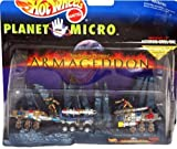 Mattel Hot Wheels Planet Micro Armageddon Asteroid Drill Site (1997)