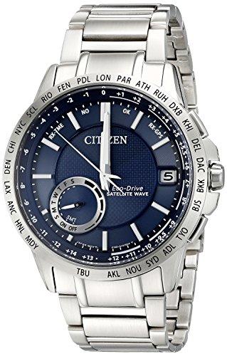 Citizen Men's CC3000-89L Satellite Wave Analog Display Japanese Quartz Silver Watch