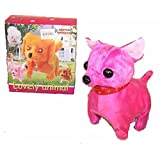 Battery Operated Walking And Barking Chihuahua Toy Dog