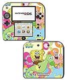 Spongebob Squarepants Sponge Bob Patrick Gummy Bear Toy Cartoon Video Game Vinyl Decal Skin Sticker Cover for Nintendo 2DS System Console Protector
