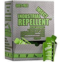 Industrial Insect Repellent Deet-free With Active Ingredient IR3535. Lotion, Odorless, Packette 100ct