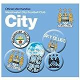Button Badge Set - Manchester City F.C