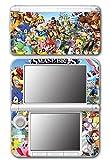 Super Smash Bros Melee Brawl Mario Pikachu Yoshi Mega Man Zelda Sonic Metroid Video Game Vinyl Decal Skin Sticker Cover for Original Nintendo 3DS XL System