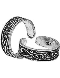 CS Jewellers Engaging Silver Toe Ring