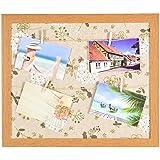 Kailash Home Décor Wooden Photo Frame (33 Cm X 2 Cm X 27 Cm, Off White & Brown)