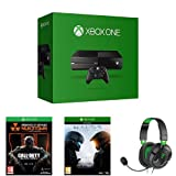 Pack Xbox One + Call of Duty : Black Ops III + Halo 5 : Guardians + casque Turtle Beach