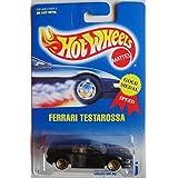 Hot Wheels Black All Small Wheels Ferrari Testarossa #35