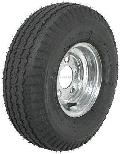 2-Pack Kenda Trailer Tire On Rim #5232 570-8 5.70-8 8 6 Bias Ply LRC 5 Lug Galvanized