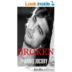 Broken book cover